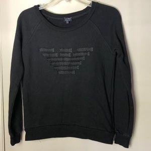 Armani Jeans black sweatshirt small
